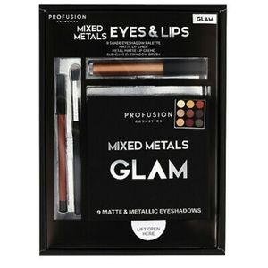 4 Piece Profusion GLAM Mixed Metals Eyes & Lips